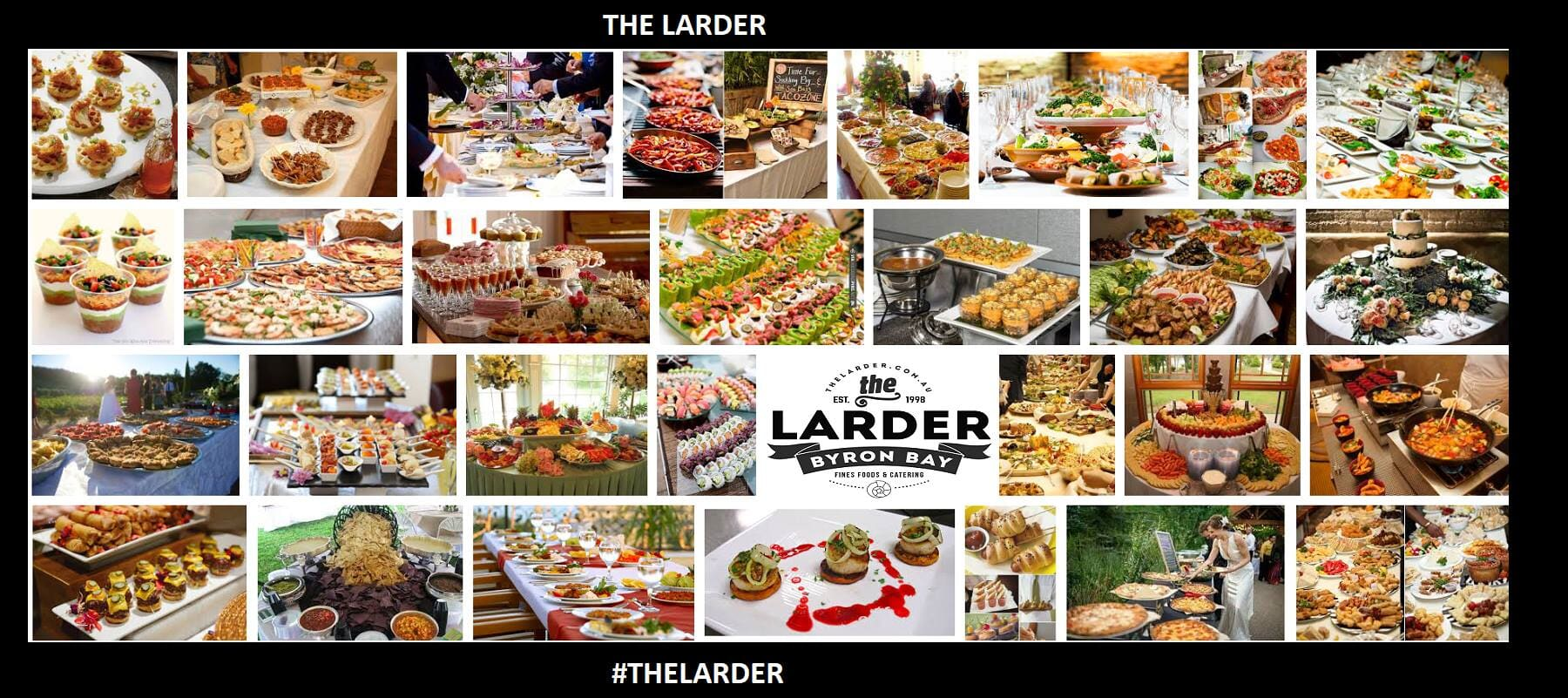 Charles at The Larder Prestige Catering
